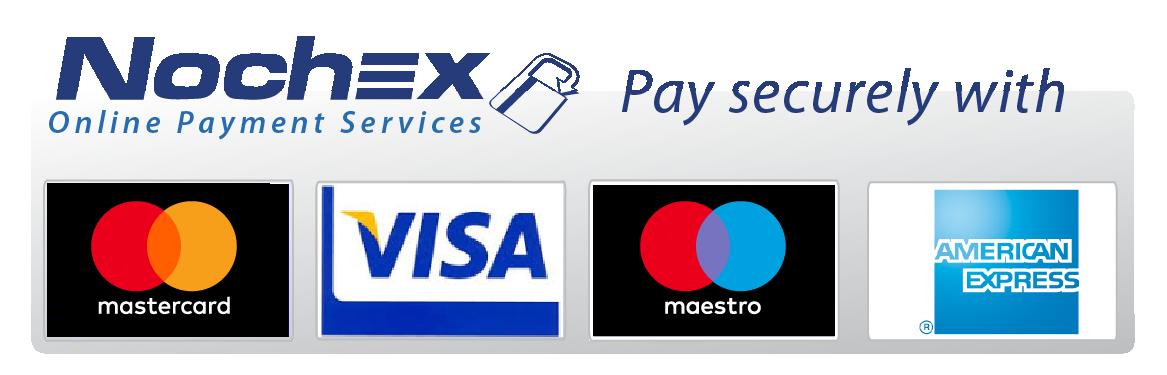 Grey - Card Brand Images - Mastercard Visa Maestro American Express