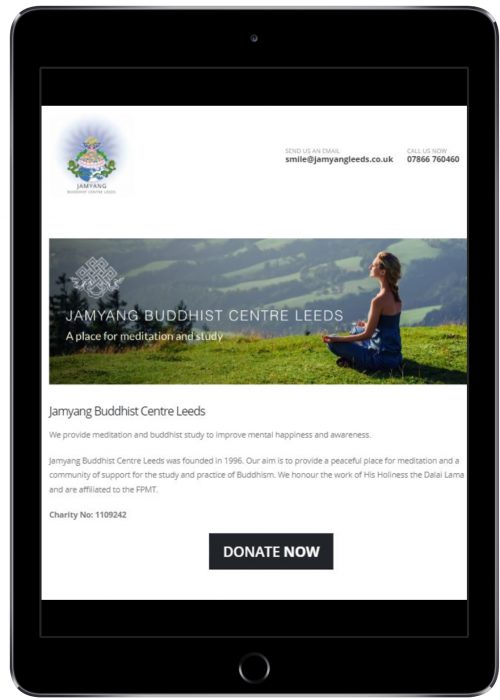 free charity donations website to take payments online